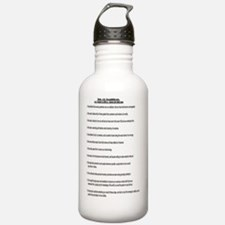 12 Traditions of Narco Water Bottle