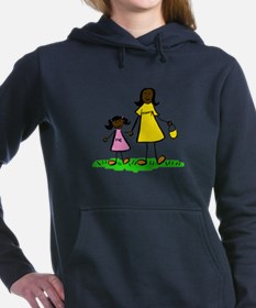 Mom and Daughter (Asian) Women's Hooded Sweatshirt