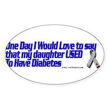 Cute Diabetes Decal