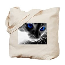 Funny Blue eyes Tote Bag