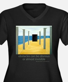 Barriers Plus Size T-Shirt