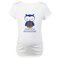 Alopecia Awareness Owl Shirt