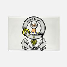 NAPIER Coat of Arms Rectangle Magnet