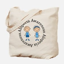 Alopecia Awareness Owl Tote Bag