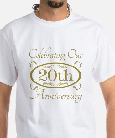 20th Wedding Anniversary T-Shirt
