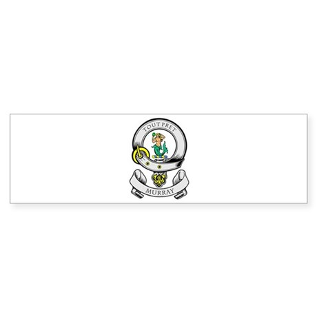 MURRAY Coat of Arms Bumper Sticker