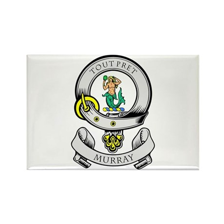 MURRAY Coat of Arms Rectangle Magnet