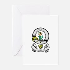 MURRAY Coat of Arms Greeting Cards (Pk of 10)
