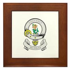 MURRAY Coat of Arms Framed Tile