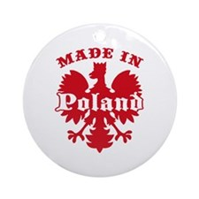 Made In Poland Ornament (Round)
