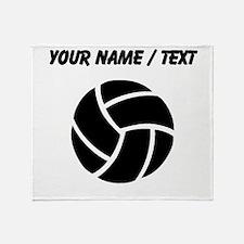 Custom Volleyball Throw Blanket