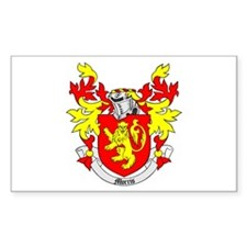 MORRIS Coat of Arms Rectangle Decal