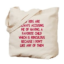Favorite child Tote Bag