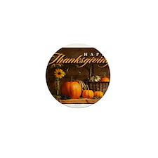 Unique Thanksgiving Mini Button