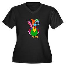 parrot Plus Size T-Shirt