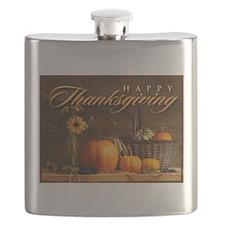 Cute Thanksgiving Flask