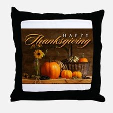 Cute Thanksgiving Throw Pillow