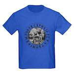 Thor Rune Shield Kids Dark T-Shirt