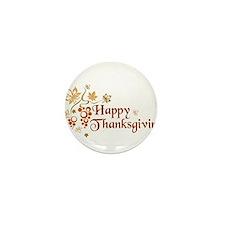 Cute Thanksgiving Mini Button (100 pack)