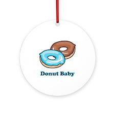Donut Baby Ornament (Round)