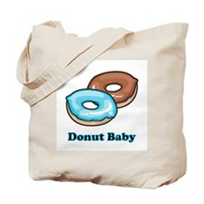 Donut Baby Tote Bag