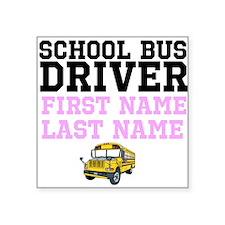 School Bus Driver Sticker