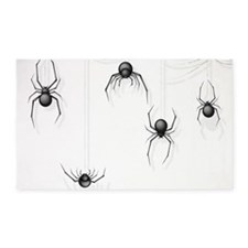 Spiders 3'x5' Area Rug