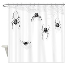 Spiders Shower Curtain