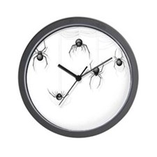 Spiders Wall Clock