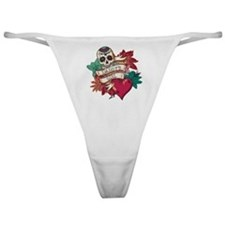 Daddy's Girl Sugar Skull Classic Thong