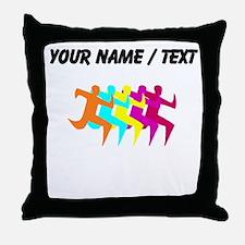 Custom Runners Throw Pillow