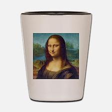Da Vinci: Mona Lisa Shot Glass