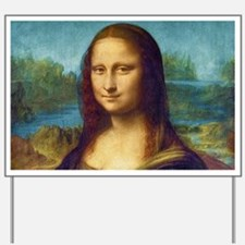 Da Vinci: Mona Lisa Yard Sign