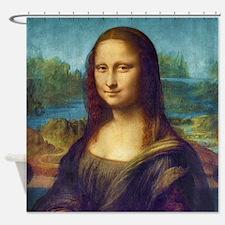 Da Vinci: Mona Lisa Shower Curtain