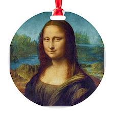 Da Vinci: Mona Lisa Ornament