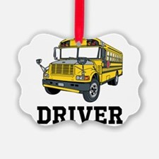 School Bus Driver Ornament
