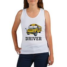 School Bus Driver Tank Top