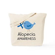 Alopecia Awareness Owl Tote Bag