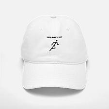 Custom Runner Baseball Baseball Baseball Cap