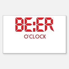 BE:ER O'Clock Decal