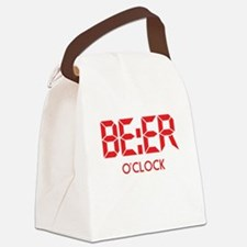 BE:ER O'Clock Canvas Lunch Bag