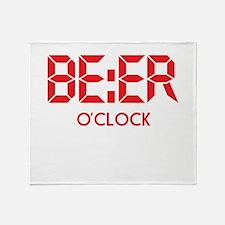 BE:ER O'Clock Throw Blanket