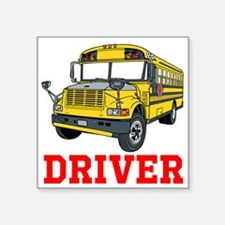 School Bus Driver Sticker