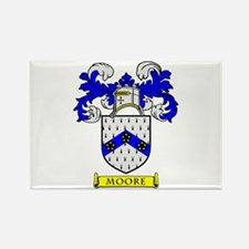 MOORE Coat of Arms Rectangle Magnet