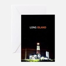 Long Island. Montauk Point Light. Greeting Card