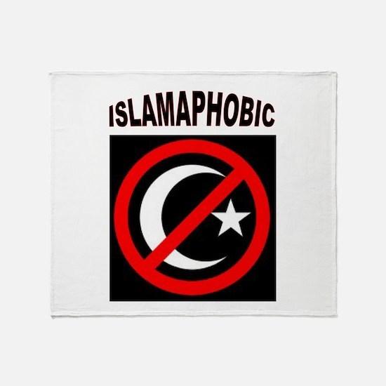 ISLAMAPHOBE Throw Blanket