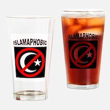 ISLAMAPHOBE Drinking Glass