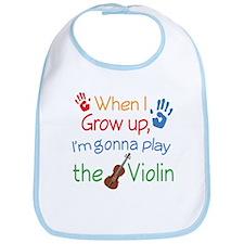 Future Violin Player Bib