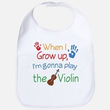 Future Violin Player Bib
