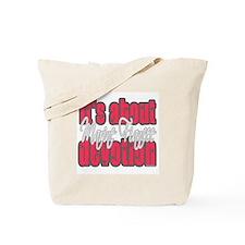 Marine Fiancee Tote Bag